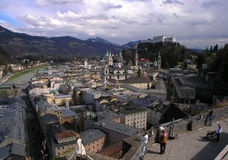 Salzburg. View of Salburg's old town Royalty Free Stock Image