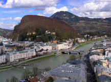 Salzburg. View of Salburg Royalty Free Stock Image