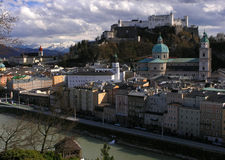 Salzburg. View of Salburg's old town Royalty Free Stock Photo