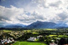 Salzburg-Ansicht lizenzfreies stockbild
