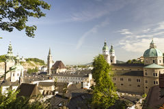 Salzburg At Dawn Stock Image