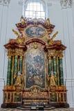 SALZBURG/AUSTRIA - 19 ΣΕΠΤΕΜΒΡΊΟΥ: Εσωτερική άποψη του Collegiat στοκ φωτογραφίες