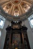 SALZBURG/AUSTRIA - 19-ОЕ СЕНТЯБРЯ: Взгляд алтара в Зальцбурге c стоковое изображение rf
