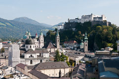 Salzburg in Austria Royalty Free Stock Photography