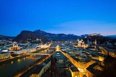 Salzburg, austria, cityscape Stock Image