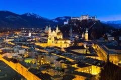 Salzburg, austria, cityscape Stock Photography