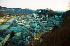 Salzburg, austria, cityscape Royalty Free Stock Image