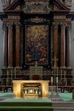 SALZBURG/AUSTRIA - 19 DE SEPTIEMBRE: Vista de un altar en Salzburg C imagen de archivo libre de regalías