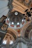 SALZBURG/AUSTRIA - 19 DE SETEMBRO: Ideia do teto em Salzbur foto de stock royalty free