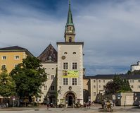 The wonderful Old Town of Salzburg. Austria stock photography