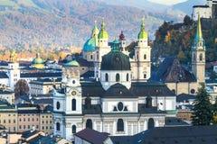 Salzburg (Austria) inner city Royalty Free Stock Photography