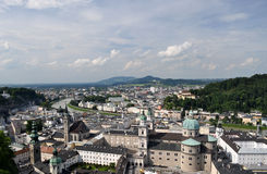 Salzburg, Austria. Salzburg (literally: Salt Fortress) is the fourth-largest city in Austria and the capital of the federal state of Salzburg. Salzburg's Old Royalty Free Stock Images