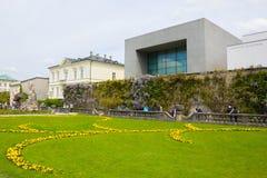 Salzburg Austria, Maj, - 01, 2017: Część piękny Mirabell uprawia ogródek w Salzburg Fotografia Stock