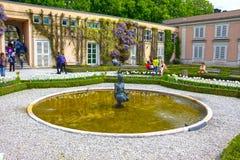 Salzburg Austria, Maj, - 01, 2017: Część piękny Mirabell uprawia ogródek w Salzburg Obraz Royalty Free