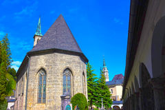 Salzburg Austria, Maj, - 01, 2017: St Peter ` s cmentarz przy Salzburg Obraz Royalty Free