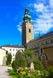 Salzburg Austria, Maj, - 01, 2017: St Peter ` s cmentarz przy Salzburg Zdjęcia Royalty Free