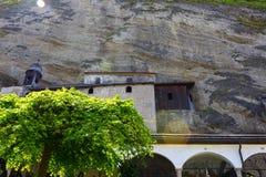 Salzburg Austria, Maj, - 01, 2017: St Peter ` s cmentarz przy Salzburg Obrazy Stock