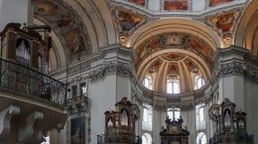 SALZBURG/AUSTRIA - 19. SEPTEMBER: Ansicht der Decke in Salzbur stockbilder