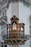 SALZBURG/AUSTRIA - SEPTEMBER 19 : View of an Organ in Salzburg C. Athedral in Austria on September 19, 2017 royalty free stock photo
