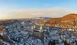 Salzburg Austria at sunset Royalty Free Stock Photography