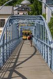 The bridges of Salzburg. Austria stock images