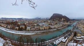 Salzburg Austria at winter Royalty Free Stock Image