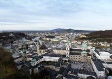 Salzburg bonito, Áustria Fotos de Stock Royalty Free