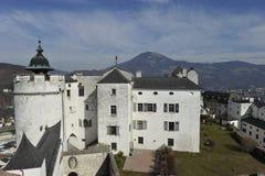 Salzburg, castillo Imagen de archivo