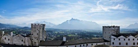 Salzburg castle Royalty Free Stock Photos
