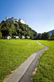 Salzburg Castle, Austria Royalty Free Stock Photography