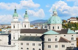 Salzburg cathedral Stock Images