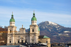 Salzburg Cathedral Stock Photos