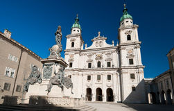 The Salzburg Cathedral, Austria Royalty Free Stock Photo