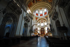 Salzburg Cathedral, Austria Stock Photography