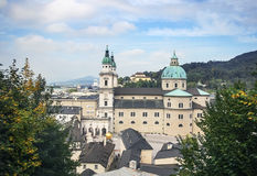 Salzburg Cathedral, Austria Royalty Free Stock Image