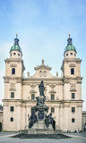 Salzburg Cathedral, Austria Royalty Free Stock Photos