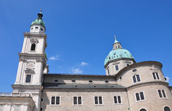 Salzburg Cathedral Stock Photography