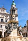 Salzburg Cathedral Stock Photos