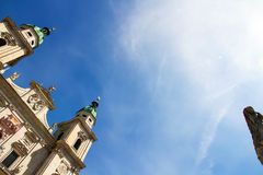 Salzburg Cathedral Royalty Free Stock Images