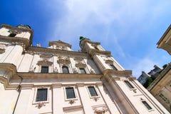 Salzburg Cathedral Stock Image