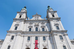 The Salzburg Cathedral (Salzburger Dom) at Salzburg, Austria Royalty Free Stock Image