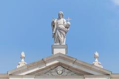 The Salzburg Cathedral (Salzburger Dom) at Salzburg, Austria Stock Photography