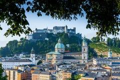 The Salzburg Cathedral (Salzburger Dom) in Salzburg, Austria Royalty Free Stock Images