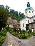 Salzburg Cemetery Stock Photos