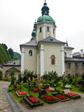 Salzburg Cemetery Stock Photography