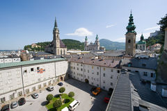 Salzburg centre Stock Photos