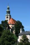 Salzburg church royalty free stock photography