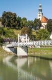 Salzburg church Stock Photos