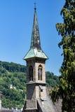 Salzburg church royalty free stock photo