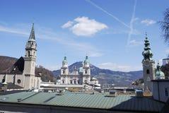 Salzburg churches Royalty Free Stock Photos